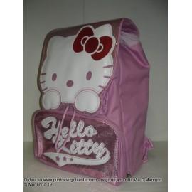 Hello kitty - Zaino estensibile rosa in omaggio portazaino