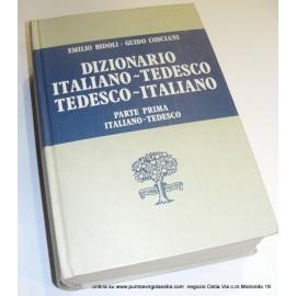 Paravia Bidoli- Dizionario Italiano - tedesco
