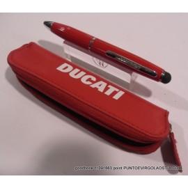 Ducati - Penna sfera con touch pen
