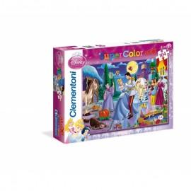 Clementoni - Puzzle 104 pezzi Principesse