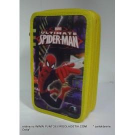 Spiderman - Astuccio tre zip