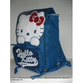 Hello kitty - Zaino estensibile azzurro in omaggio portazaino