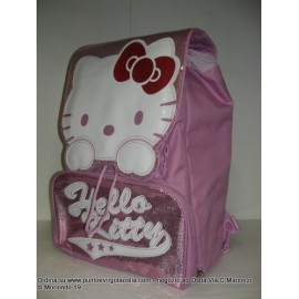 Hello kitty - Zaino estensibile rosa in omaggio portazaino
