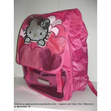 Hello kitty - Zaino estensibile fucsia maxi