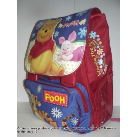 Winnie the pooh - Zaino scuola estensibile