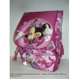 Minnie - Zaino fucsia estensibile