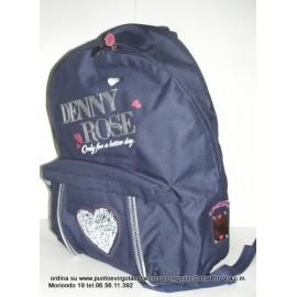 Denny Rose romantic blu - zaino scuola americano