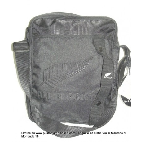 All Blacks - Borsa tracolla verticale
