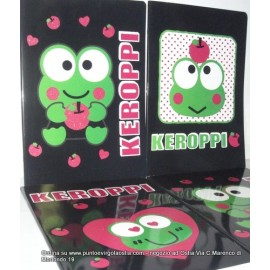 Keroppi - maxi quaderni varie rigature