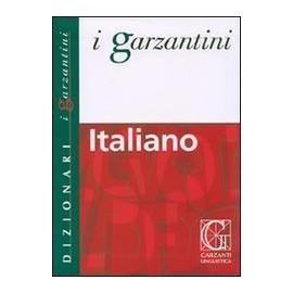 Garzanti - Dizionario lingua italiana medio brossura