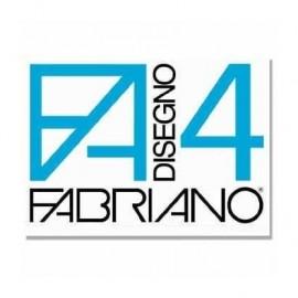 Fabriano F4 liscio riquadrato - Blocco disegno 33X48 cm