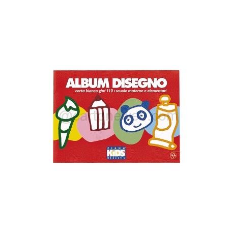 Pigna Kids - album liscio 5 mm spillato 24x33 cm