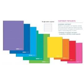 Tinta Unita - maxi quaderni varie rigature
