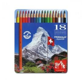 Caran D'ache Prismalo - pastelli matite 12 colori assortiti