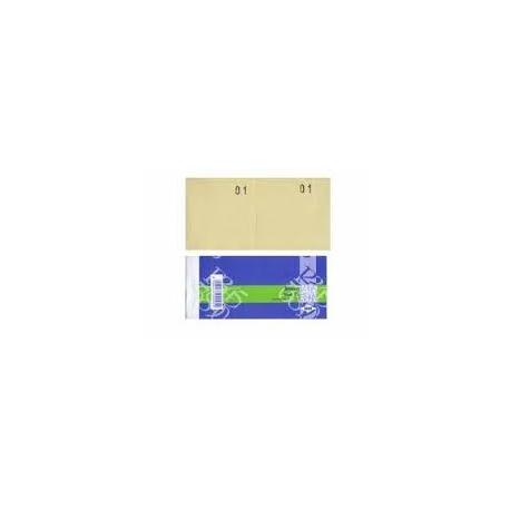 BM 012b - Blocchetti numerati 1 a 100 cm 11,3x6