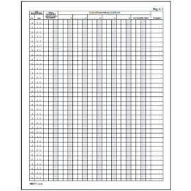 Flex 1386.26n - Registro corrispettivi 24,5x31 pag,48