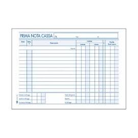 Flex 1665c - prima nota cassa 2c autoricalcante 23x14,8