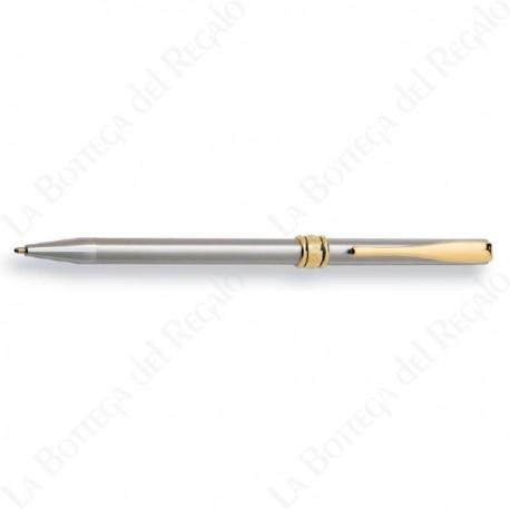 Penne Sfera//stilografica AURORA Y acciaio satinato