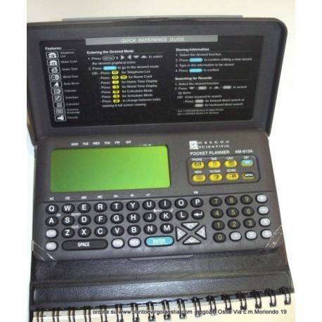 Oregon AM 613A - Databank pocket planner