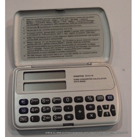 Osama os 811/8 - Databank euroconvertitore