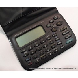 Sharp EL 6320 - DataBank electronic organizer