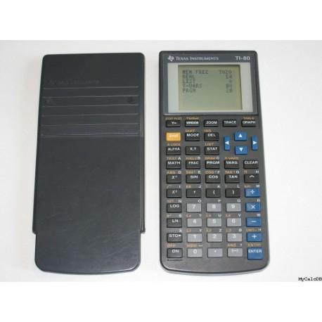Texas TI 80 - Calcolatrice grafica Scientifica