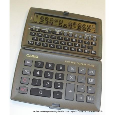 Casio TL 120 - Databank 130 TEL & FAX