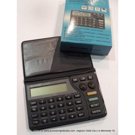 Sharp EL 6073 - DataBank electronic organizer