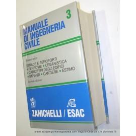 Zanichelli Esac - Manuale ingegneria civile 3