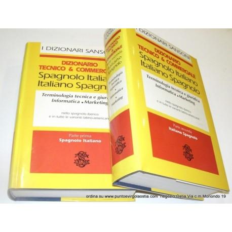 Sansoni dizionario tecnico commerciale italiano spagnolo for Traduzione da spagnolo a italiano