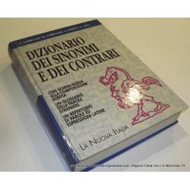 Nuova Italia Sambugar - dizionario Sinonimi e Contrari