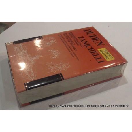 Zanichelli Duden - dizionario tedesco/italiano - italiano/tedesco