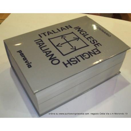 Paravia - dizionario Inglese/italiano - italiano /inglese