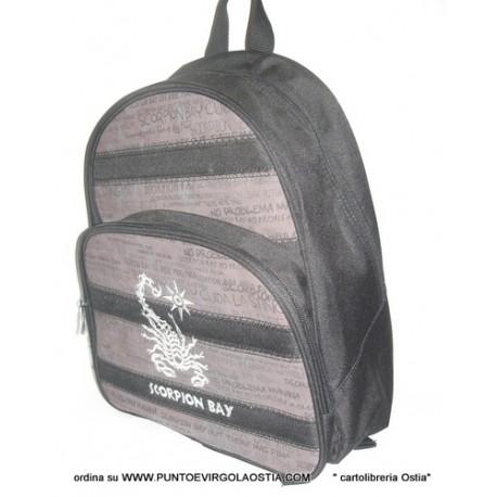 Scorpion bay - zaino scuola americano MARRONE