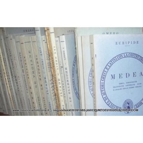 Omero - Iliade libro 22 - traduttore D.Alighieri