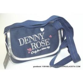 Denny rose romantic blu - Borsetta con tracollina