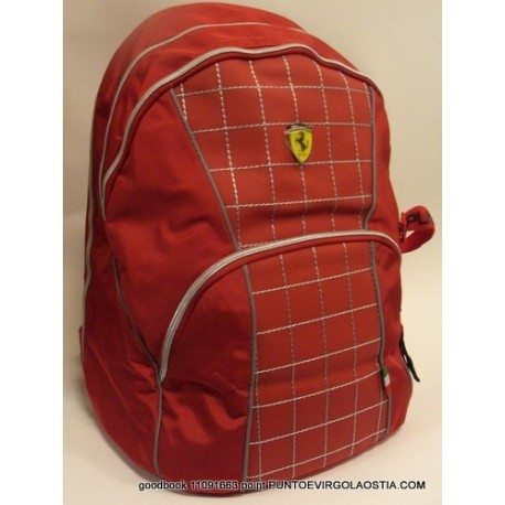Ferrari Racing - Zaino teen scuola e tempo libero