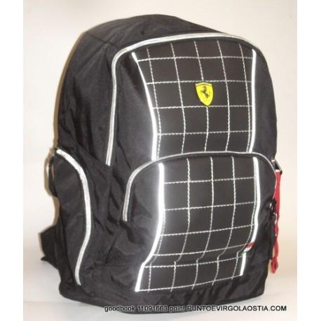 Ferrari Racing - Zaino americano scuola e tempo libero
