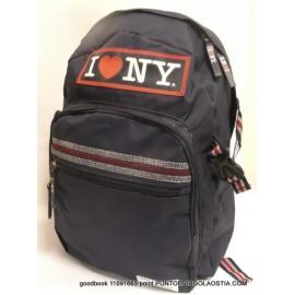 I Love New York - Zaino Teen Organizzato scuola e tempo libero