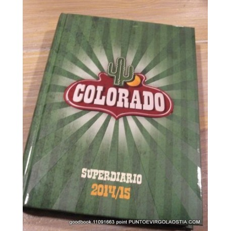 Colorado - Diario scuola 12 mesi datato