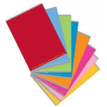 Colore assortito - maxi quaderni varie rigature