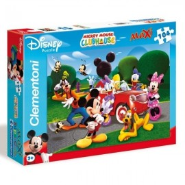 Clementoni - Puzzle 104 pezzi Mickey Mouse Club House