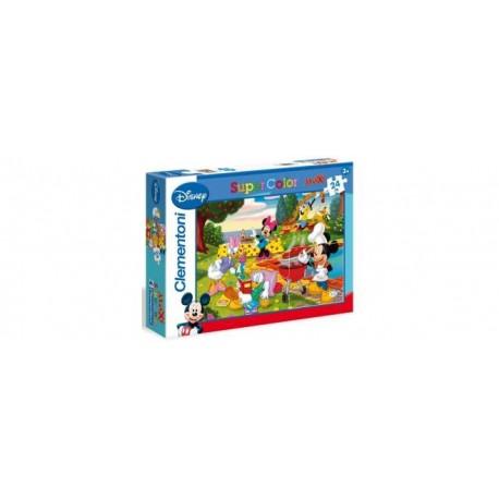 Clementoni - Puzzle 24 pezzi Mickey Mouse