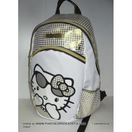 578f53f43f Hello kitty - zaino scuola teen organizzato - Meucci Cartolibreria ...