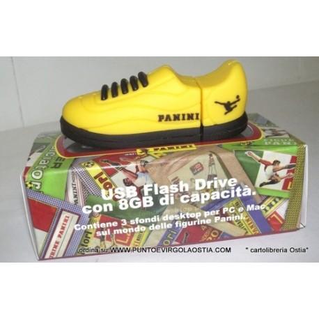 Calciatori Panini - Pen usb 8 gb scarpetta